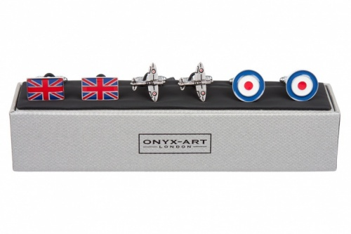 Gift Set of RAF Themed Cufflinks
